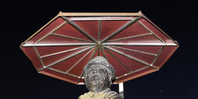 Statue of Smoligar in Dunjkovec