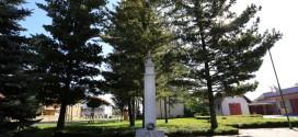 Der Obelisk Nikola Zrinski von Čakovec in Gornji Kuršanec