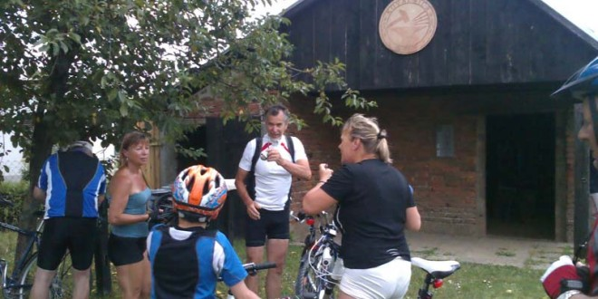 Posjet čeških biciklista kovačnici Horvat