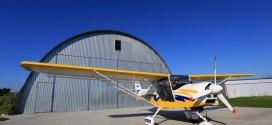 Der Flugplatz für Ultraleichte Sportflugzeuge