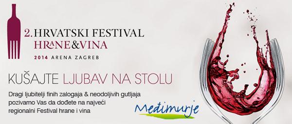 Doživite međimurske okuse na 2. Hrvatskom festivalu hrane i vina u Zagrebu ovog vikenda