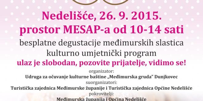 """1. festival međimurskih slastica """"Bakini kolači"""""""