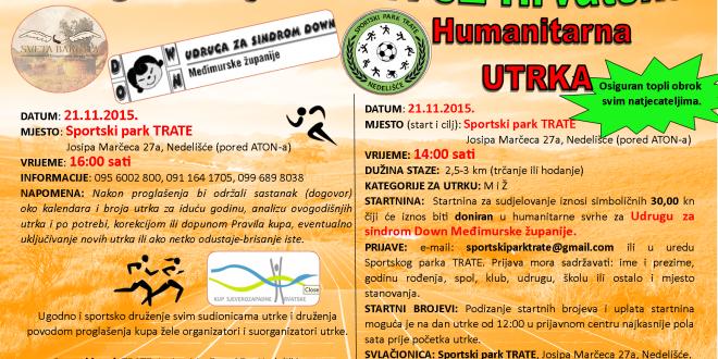 Proglašenje kupa SZ Hrvatske i humanitarna utrka na sporstkom parku TRATE