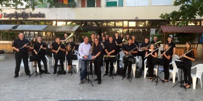 Koncert Puhačkog orkestra Općine Nedelišće u Sinju