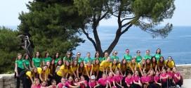 Mazoretkinje Nedelisca na Drzavnom prvenstvu u Rovinju