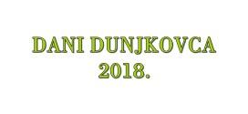 Dani Dunjkovca 2018.