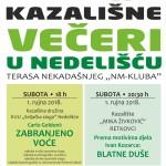 plakat kazalisne veceri 2018